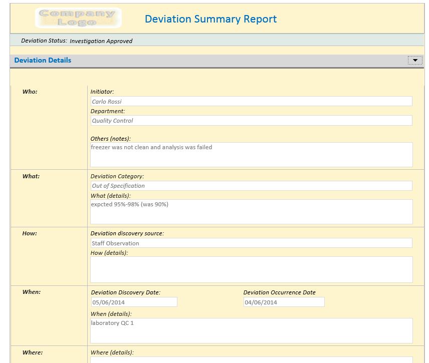 complaint definition fda